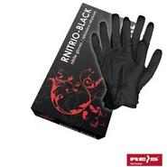 Rękawice nitrylowe RNITRIO Black