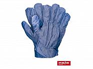 Rękawice robocze drelichowe pikowane
