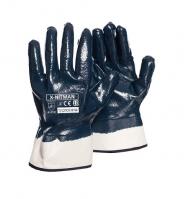 Rękawice nitrylowe z mankietem RNITNP