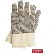 Rękawice drelichowe ocieplone